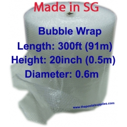 Bubble Wrap ® Roll 300ft(L) x 20inch(H)